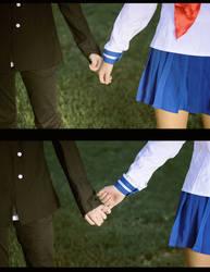 [High School Romance] Don't let go, please by SnowMochii