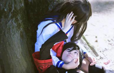 [High School Romance] That moment by SnowMochii