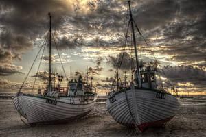 Fisherman Boat by Lars-V
