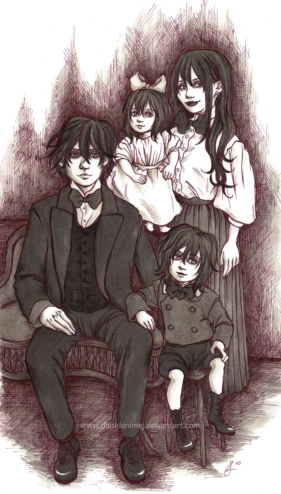 The Kuran Family Portrait by DaiskiAnimeJ on DeviantArt
