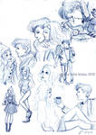 Moonhawk424: DW Sketches