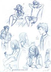 DW: Moar sketches...