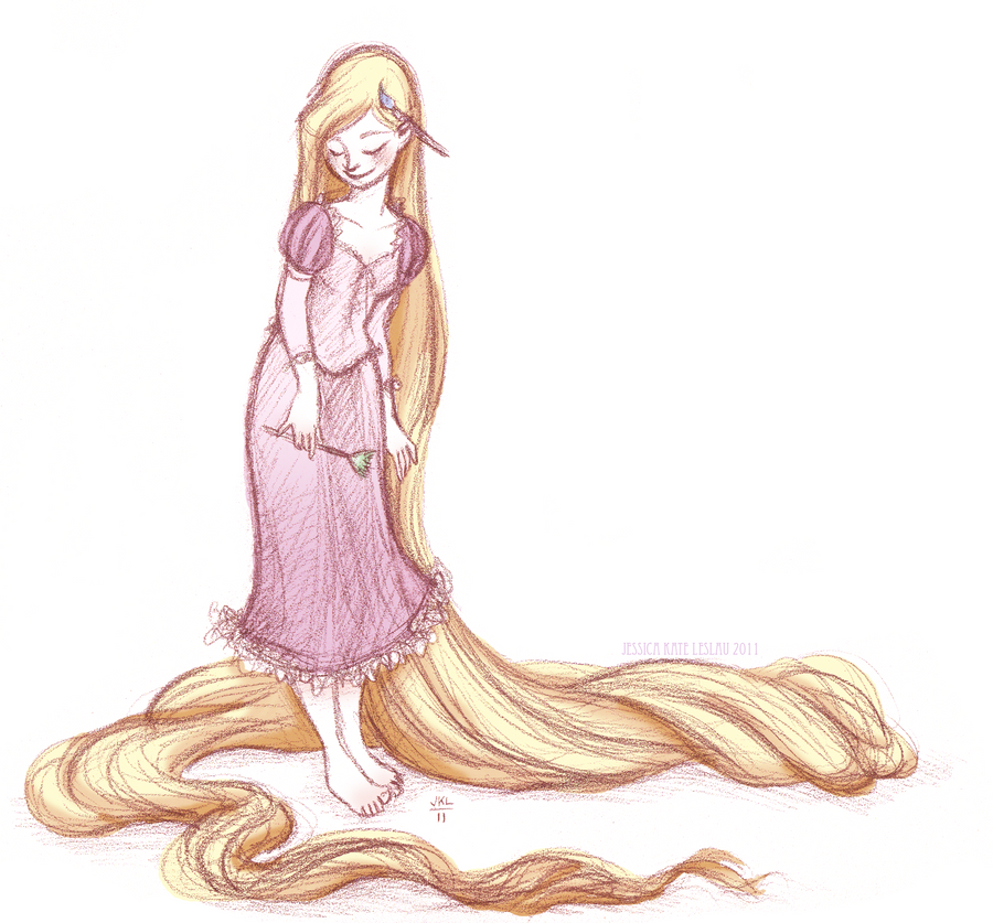 Rapunzel... by DaiskiAnimeJ