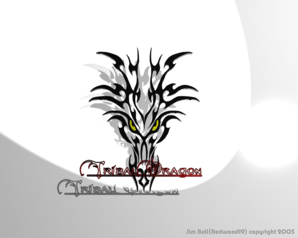 tribal dragon wallpaper by - photo #12