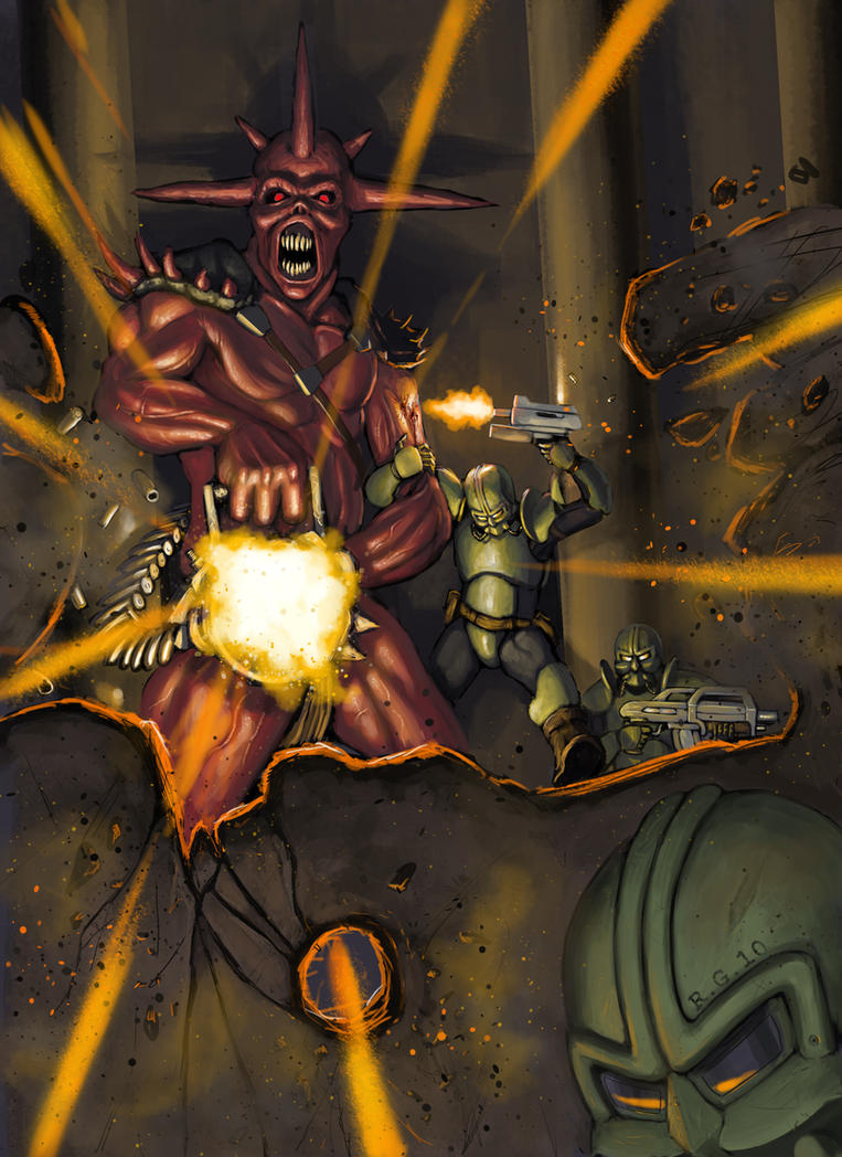 Mutant Chronicles random by I2ebis