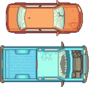 pixelcars by I2ebis