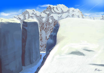 Fictional Nanga Parbat by I2ebis