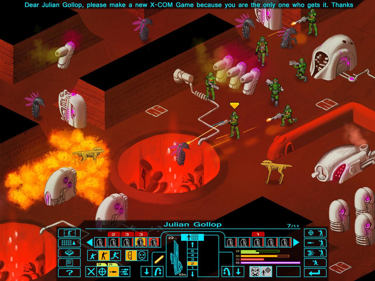 Dear Julian Gollop, 6: Alien Base by I2ebis