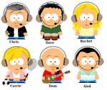 Chris Moyles South Park