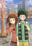 My Hero Academia - Midoriya // Uraraka