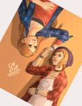 Life is strange - Chloe and Rachel