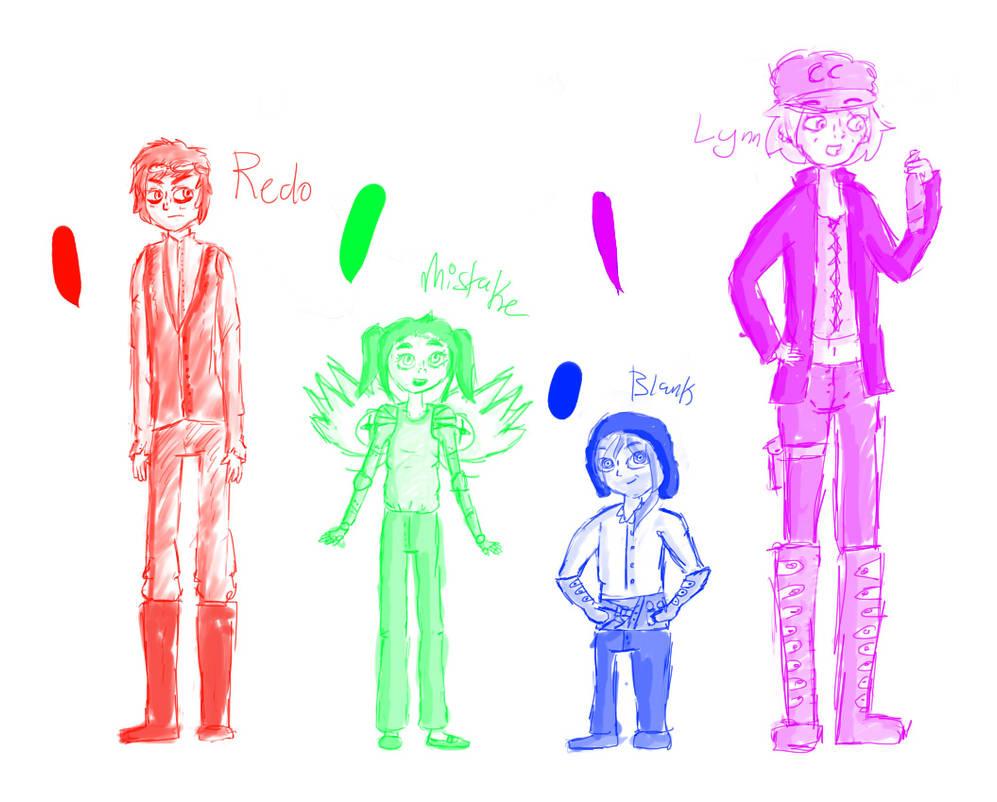 The Failed Experiment - Height Chart by RainbowRedo