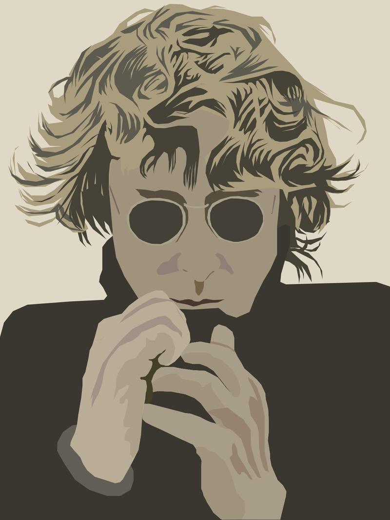 John Lennon by ashweez