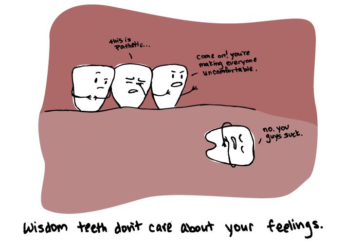 Wisdom teeth removal painful yahoo