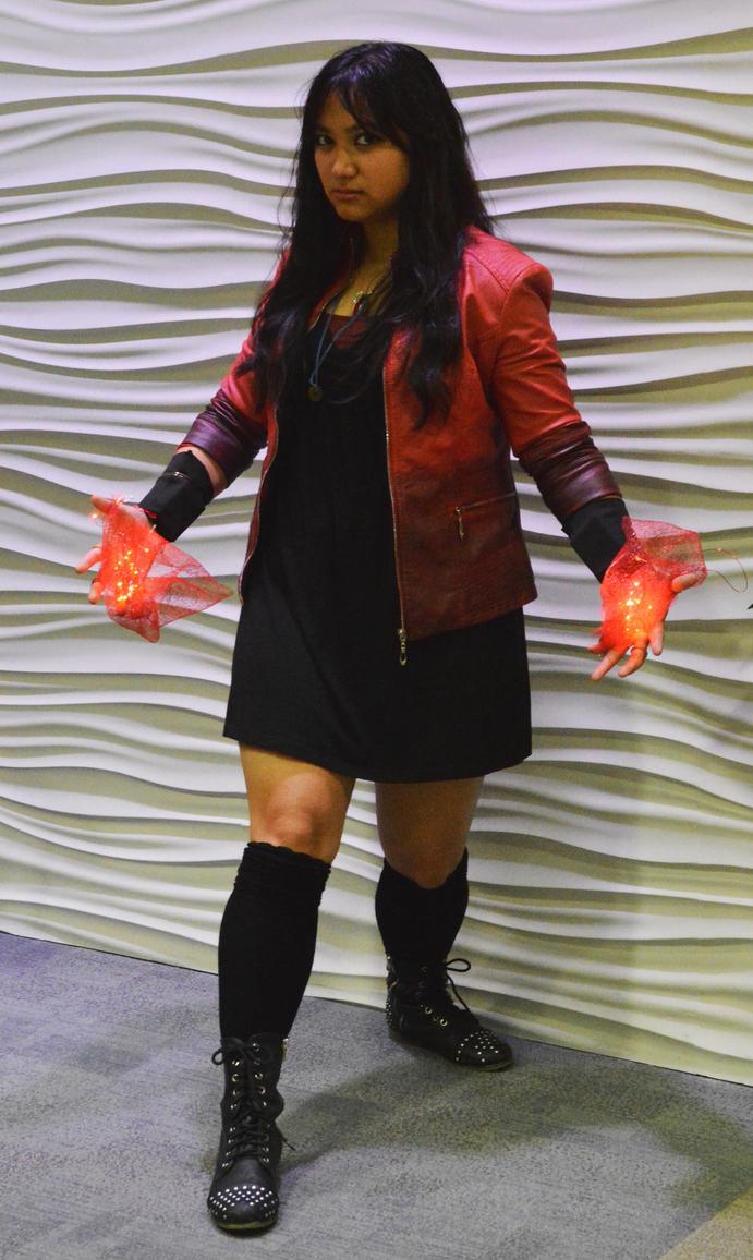 Wanda Maximoff (Age of Ultron) Halloween cosplay by ashweez