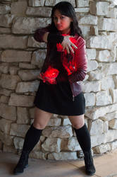 Scarlet Witch cosplay (PAX South 2016)