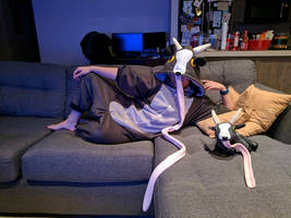 Oh, hello there: Goat Simulator inspired kigu
