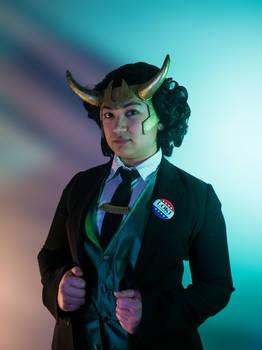 My Army, My Throne (President Loki)