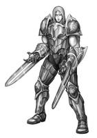 Armored Fighter by Kao-Valer