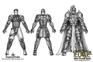 Commission: EDGE - Armor by Kao-Valer