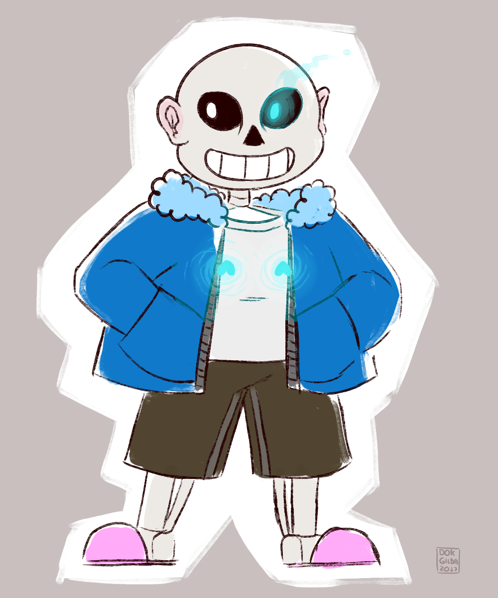 [COMMISSION] Sans by DokGilda