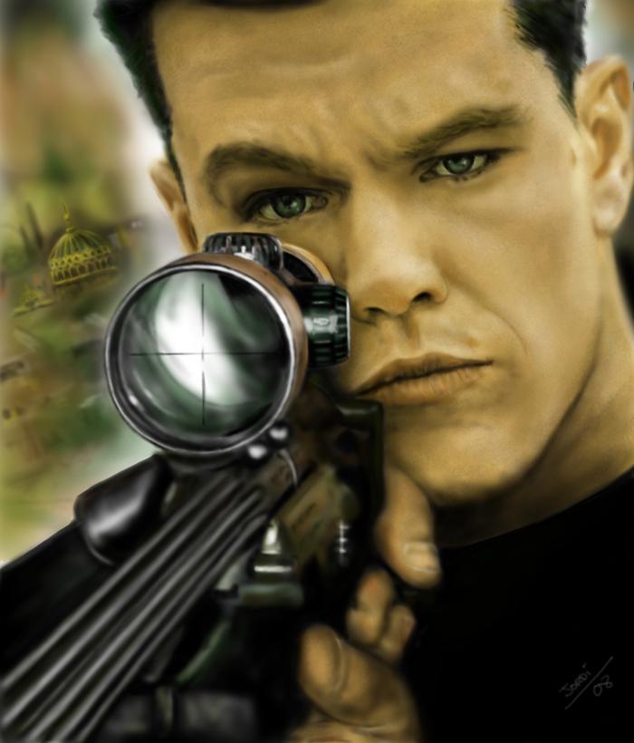 Jason Bourne by Joruji