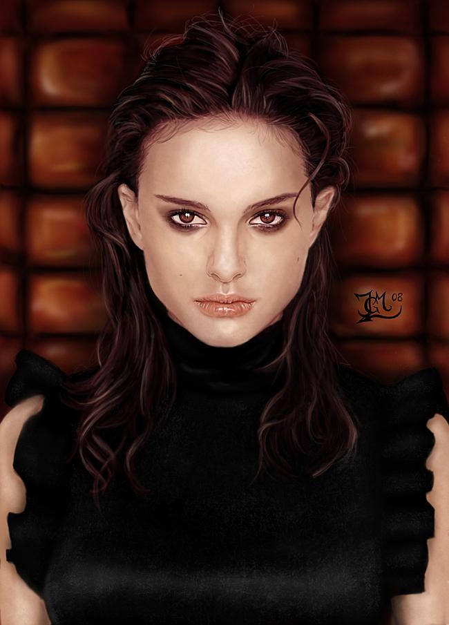 Natalie Portman by Joruji