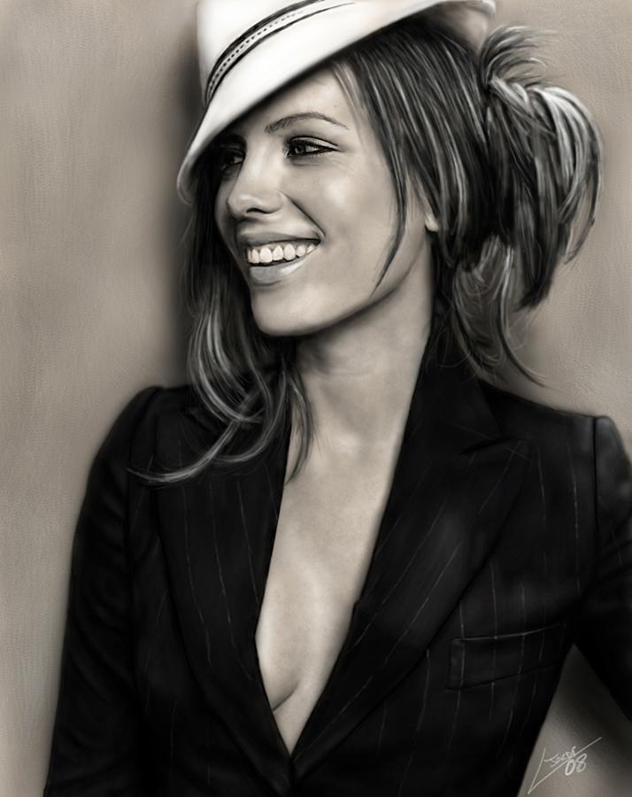 Kate Beckinsale by Joruji