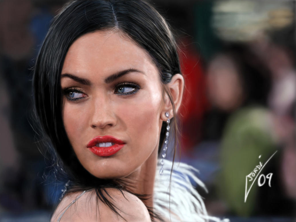 Megan Fox by Joruji