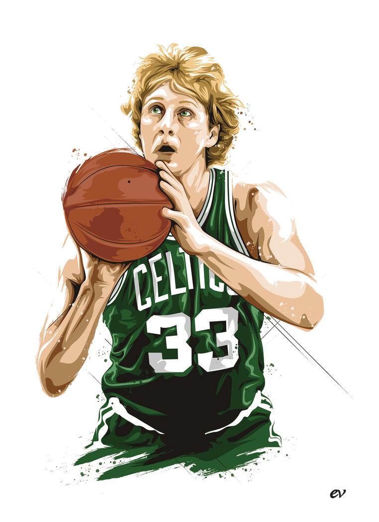 Larry Bird Celtics Wallpaper