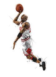 Michael 'Air' Jordan by earlsonvios