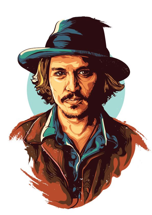 Johnny Depp by earlsonvios