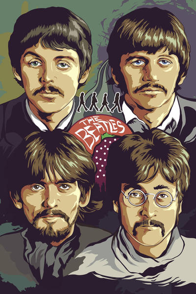 The Beatles by earlsonvios