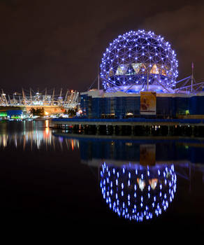 Science World in Purple