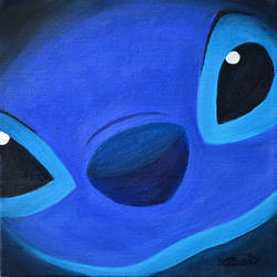 Stitch Sees You by tuftedpuffin