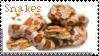 snake stamp by muddyputty
