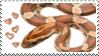 corn snake love stamp by muddyputty