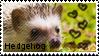 hedgehog stamp 2 by muddyputty