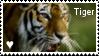 tiger stamp by muddyputty