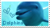 Dolphin stamp by muddyputty