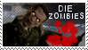 DIE ZOMBIES stamp by muddyputty