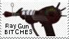 Ray gun stamp by muddyputty