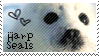 Harp seal stamp by muddyputty