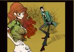 Lupin and Fujiko