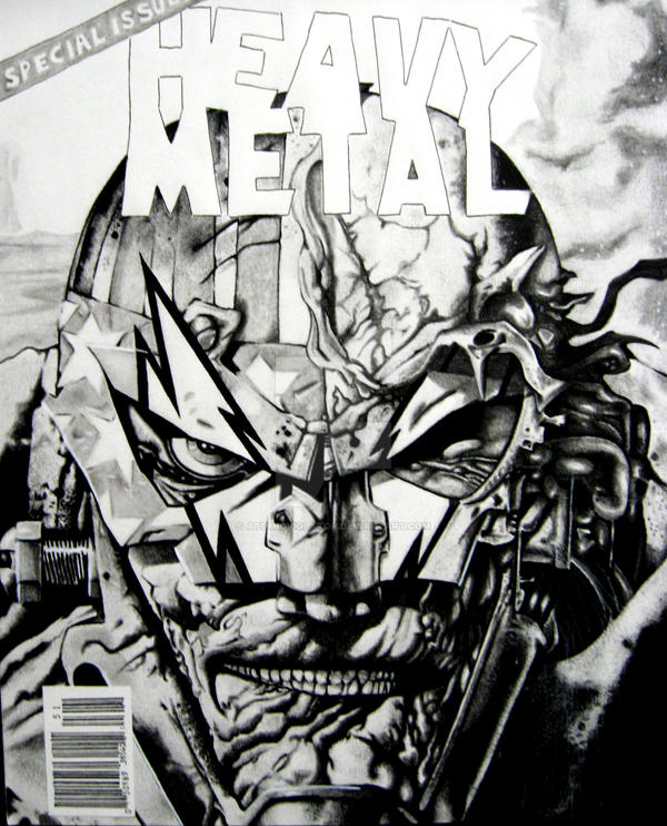 Heavy Metal Cover Cover By AtomicViolator On DeviantArt