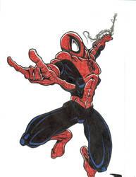 Spiderman by AtomicViolator