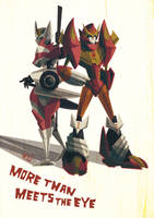 rodimus and drift by ogakyou