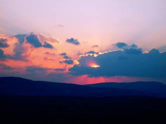 Sunset. by xxJasminaxx