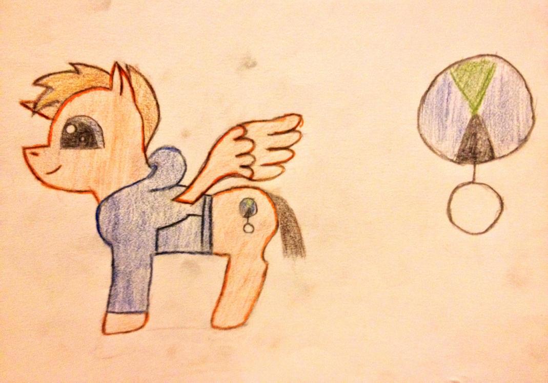 Ponysona OC by Birddog1198