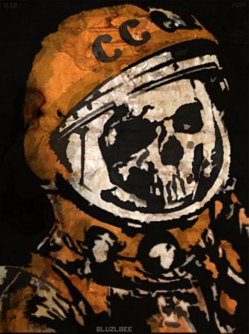 Dead Astronaut by Bluzlbee